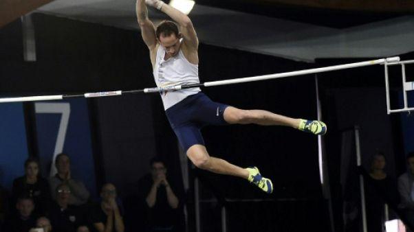 Athlétisme: Renaud Lavillenie au rendez-vous, pas Christophe Lemaitre