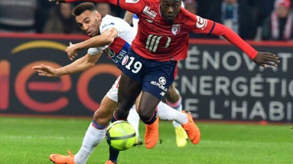 Ligue 1: Lille arrache le nul face à Lyon, qui perd encore du terrain sur le podium