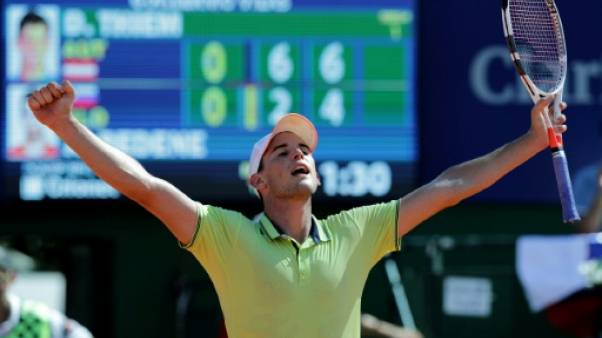 Tennis: Thiem souverain sur la terre battue de Buenos Aires
