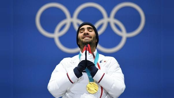 "JO-2018: Fourcade, ""Quel pied !"", la presse enthousiaste salue le champion"