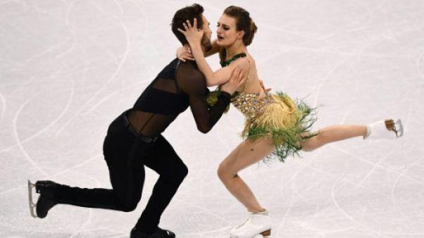 JO-2018: sa robe se détache, mais Papadakis et Cizeron s'accrochent