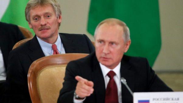 """""""Aucune preuve"""" d'ingérence de Moscou dans l'élection américaine, selon le Kremlin"""