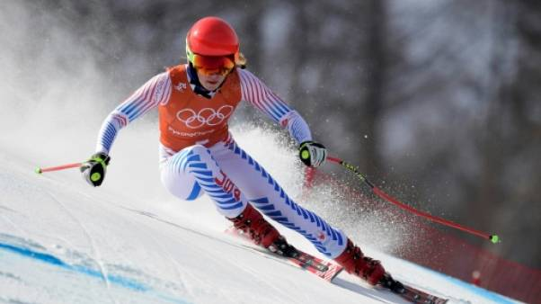 JO-2018: l'Américaine Mikaela Shiffrin ne disputera pas la descente
