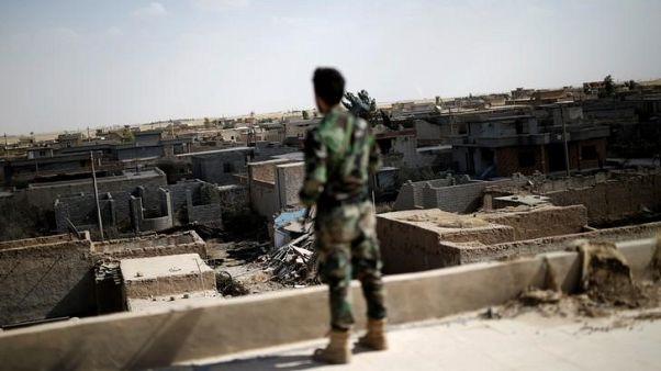 الدولة الإسلامية تقتل 25 من الحشد الشعبي في كمين قرب كركوك