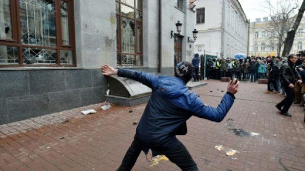 Moscou convoque le chargé d'Affaires ukrainien après des incidents à Kiev