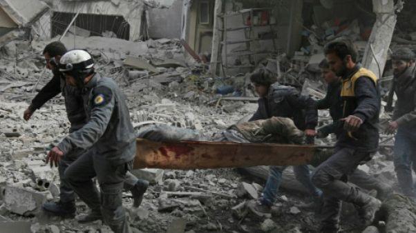 Le régime s'acharne sur un fief rebelle près de Damas