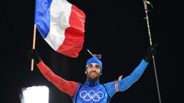 JO-2018: Fourcade le Français le plus titré de l'histoire des Jeux, été et hiver confondus