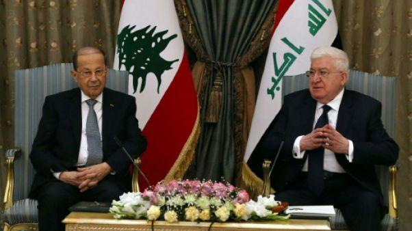 Le président libanais en visite en Irak, une première