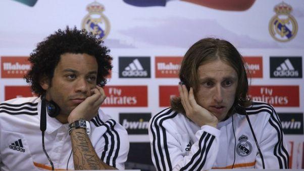 مودريتش ومارسيلو ثنائي ريال مدريد قد يغيبان عن مواجهة باريس سان جيرمان