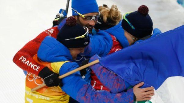 JO-2018: les quatre champions olympiques du relais mixte passés au crible