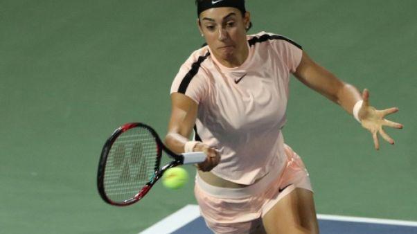 Tennis: Garcia en huitièmes de finale à Dubaï