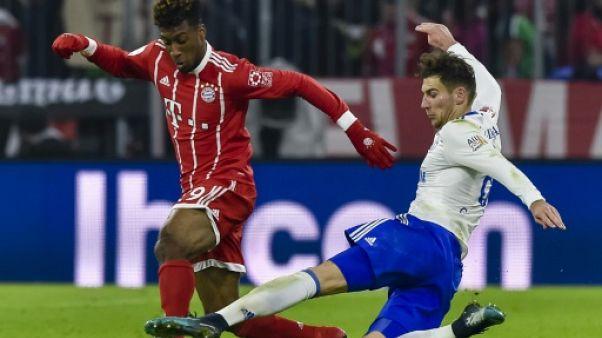 Ligue des champions: Coman seul Français titulaire avec le Bayern contre Besiktas