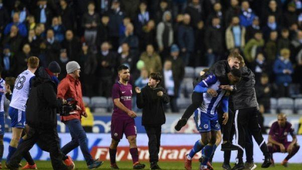 Manchester City: Agüero pas sanctionné pour son altercation avec un supporter de Wigan