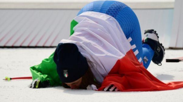 JO-2018: Sofia Goggia, cheval fou et championne olympique de descente