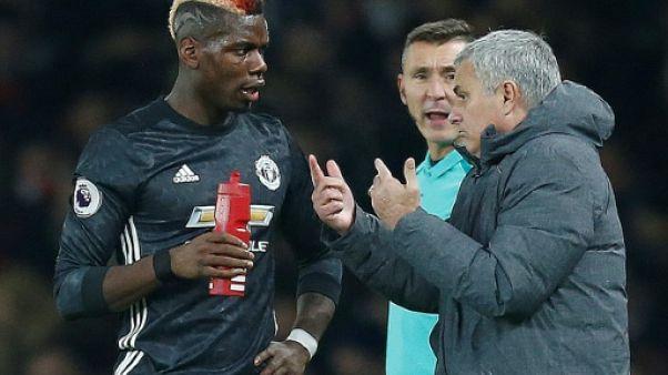 Manchester United: Pogba et Mourinho, la fin de la lune de miel