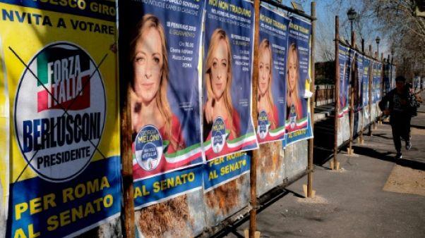 Législatives en Italie: la droite devant mais une issue incertaine