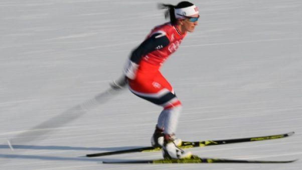 JO-2018: record de médailles aux Jeux d'hiver pour la Norvégienne Björgen
