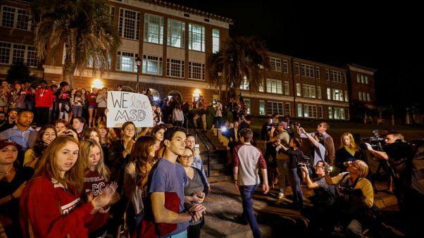 تنظيم مسيرة طلابية في تالاهاسي تدعو لفرض قيود على الأسلحة في أمريكا