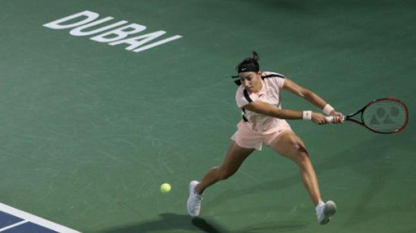 Tennis: Caroline Garcia qualifiée pour les quarts à Dubaï