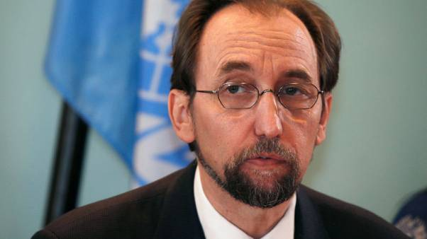 """مفوض الأمم المتحدة لحقوق الإنسان يندد بحملة """"الإبادة"""" في الغوطة السورية"""