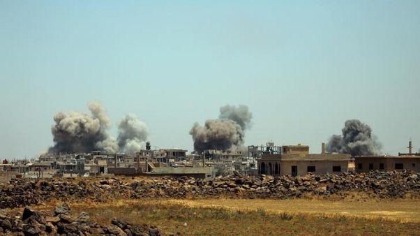 المرصد: هجوم الحكومة السورية يوقف عمل ثلاثة مستشفيات بجنوب غرب سوريا