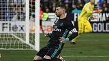 Real rise to third after beating Leganes without Ronaldo