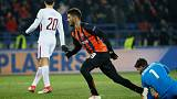 Shakhtar's South Americans too strong for Roma