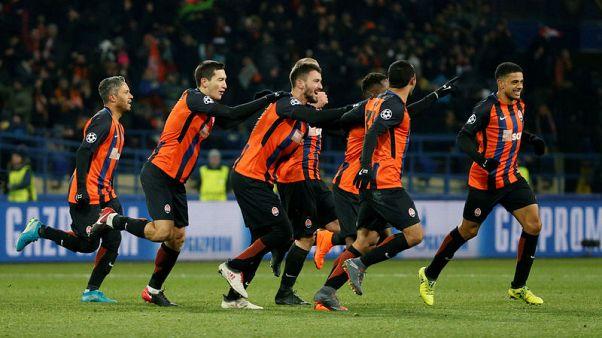 شاختار بصبغة لاتينية يهزم روما في دوري أبطال أوروبا