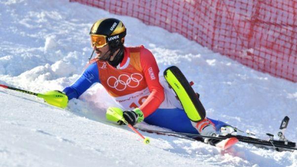 """JO-2018: """"JiBé"""" Grange: une histoire frustrante aux Jeux, clap de fin au slalom"""