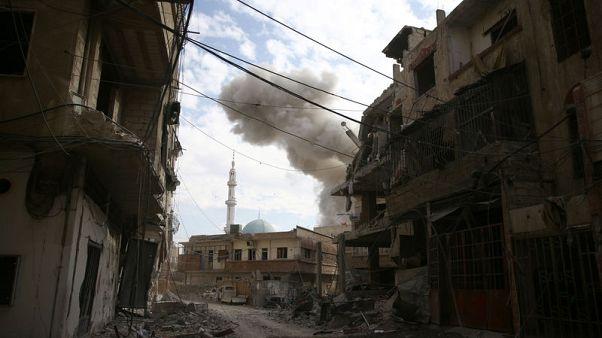 تواصل القصف في الغوطة الشرقية ليوم خامس والأمم المتحدة تدعو لوقف النار