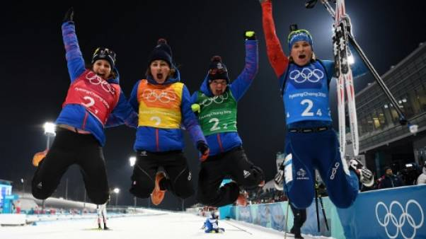 JO-2018: le biathlon régale, 15e médaille française et record de Sotchi égalé