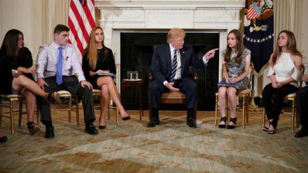 Trump vante l'effet dissuasif d'enseignants armés dans les écoles