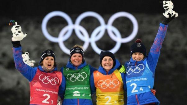 JO-2018: les Bleues du biathlon bronzées à point