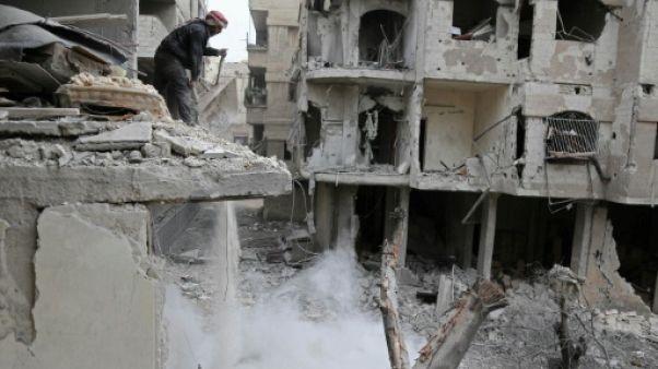 Syrie: plus de 400 civils tués en cinq jours selon l'OSDH