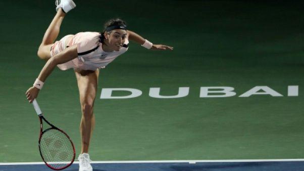 Tennis: Garcia dominée par Muguruza en quarts à Dubaï comme à Doha