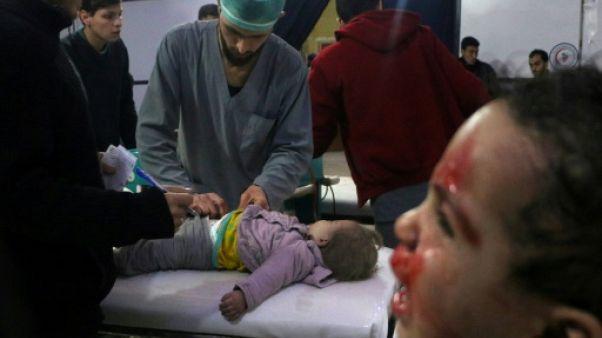 Les bombes du régime syrien tuent 400 civils en cinq jours dans un fief rebelle
