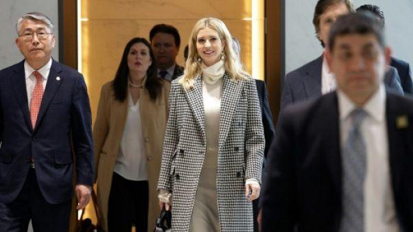 JO-2018 - Ivanka Trump en Corée du Sud pour la clôture des jeux Olympiques