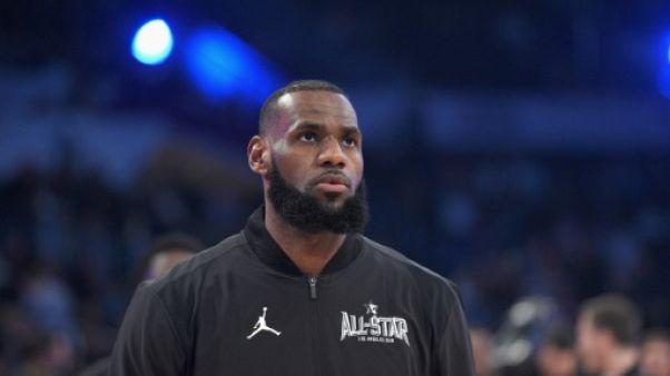 NBA: les Cavaliers à terre face à Washington après le All Star Game