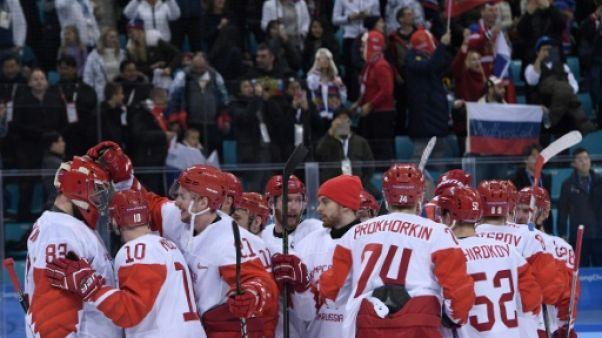 JO-2018: première finale pour les hockeyeurs russes en 20 ans