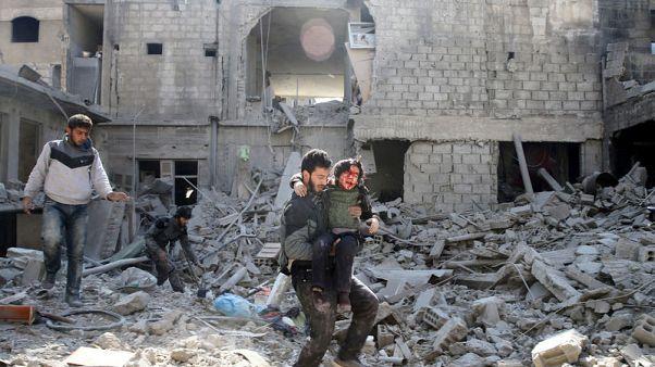 الاتحاد الأوروبي يدعو لوقف فوري لإطلاق النار في الغوطة الشرقية