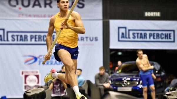 Mondiaux d'athlétisme en salle: le perchiste Thiago Braz face à Lavillenie