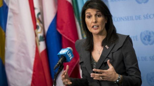 Proche-Orient: le plan de paix américain bientôt prêt, selon Haley