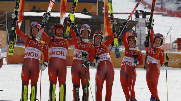 رقم قياسي للنرويج بعد حصولها على 38 ميدالية في الأولمبياد الشتوي