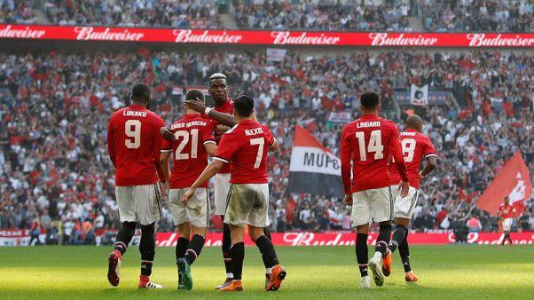 يونايتد يهزم توتنهام ويبلغ نهائي كأس الاتحاد الإنجليزي