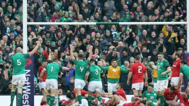 Tournoi: l'Irlande peine contre Galles, mais vise toujours le Grand Chelem