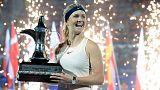 Svitolina races past Kasatkina to retain Dubai title