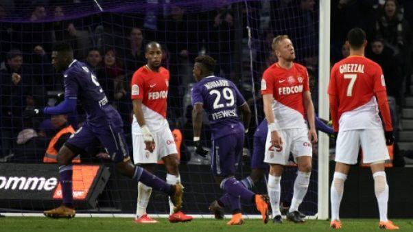 Ligue 1: Monaco, le dauphin gâche à Toulouse