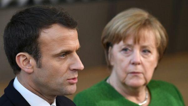 Syrie: entretien dimanche de Macron et Merkel avec Poutine sur la trêve