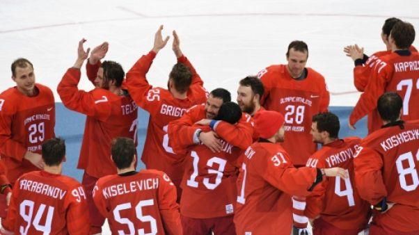 JO-2018: les hockeyeurs russes tremblent mais dominent l'Allemagne au bout du suspense
