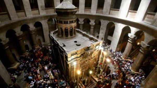 L'église du Saint-Sépulcre à Jérusalem fermée pour protester contre des mesures fiscales israéliennes
